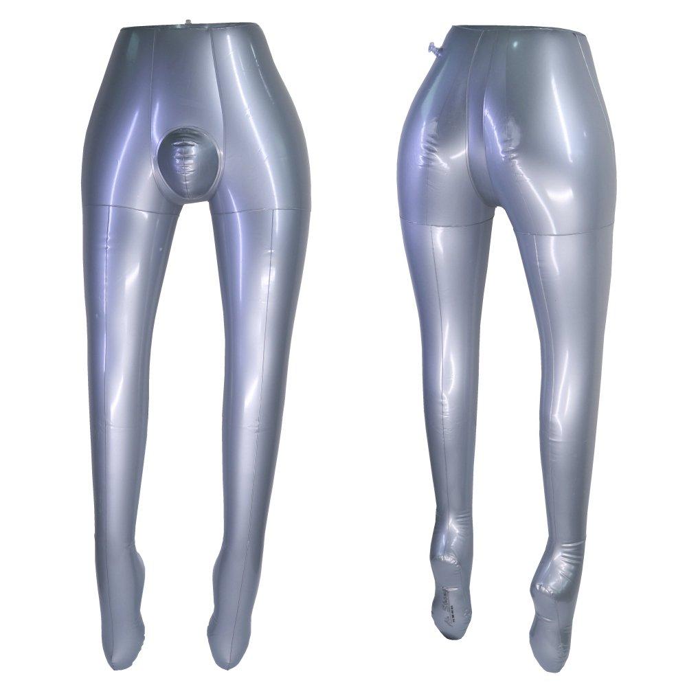Gonfiabile maschio Leg torso Model Half Body manichino pantaloni puntelli PANINA