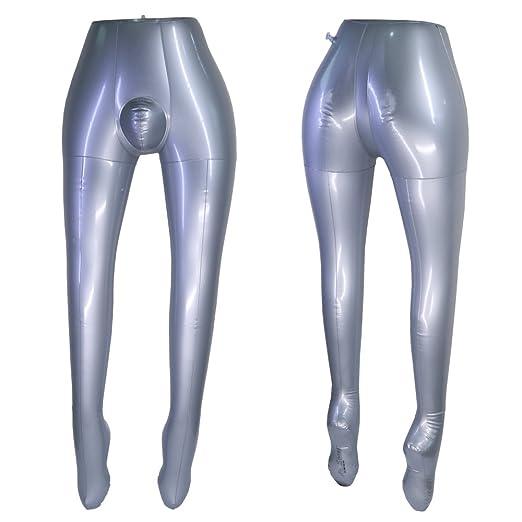 Pantalones hinchables para hombre con diseño de torso: Amazon.es ...