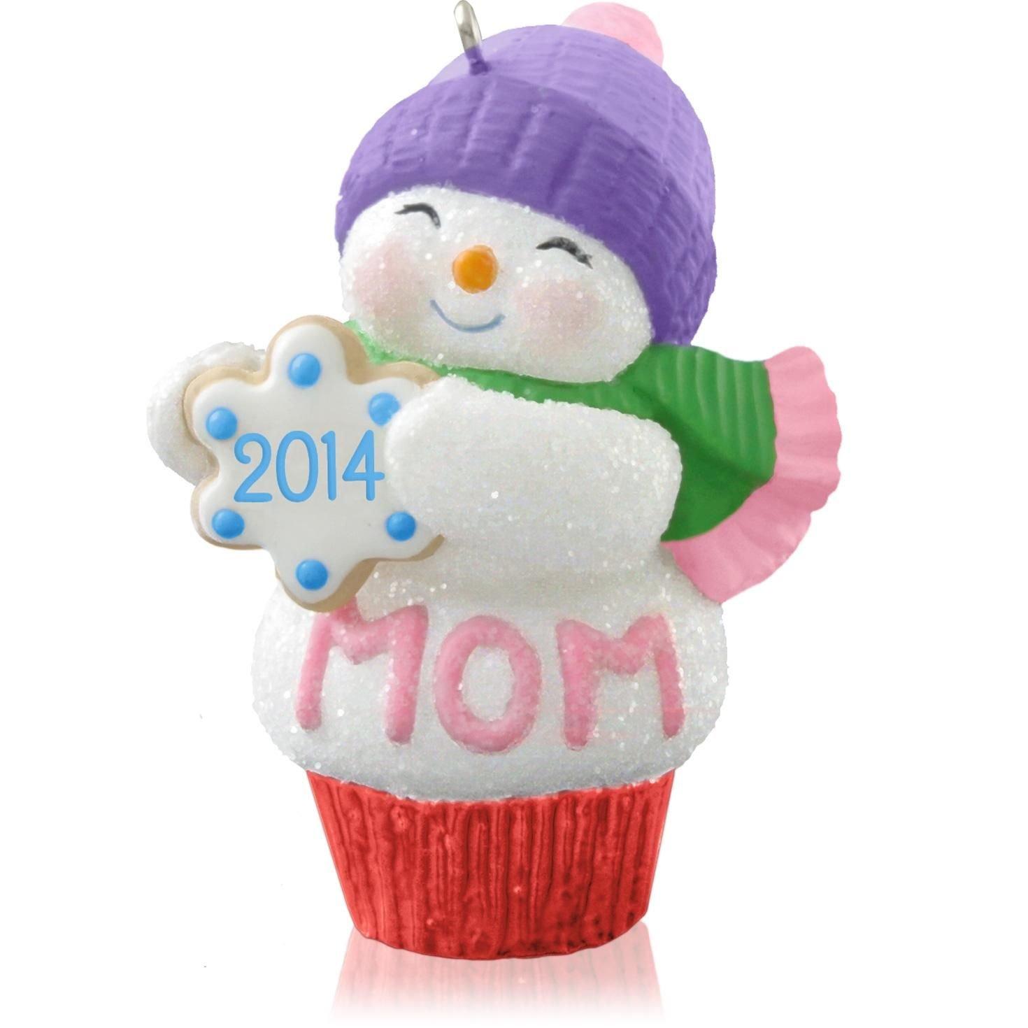Amazon: Hallmark Qgo1083 Mom  2014 Christmas Keepsake Ornament: Home &  Kitchen