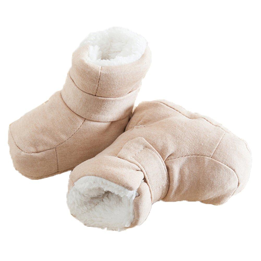 Monvecle Unisex Baby Premium Soft Winter Infant Prewalker Fashion Cute Booties Boots