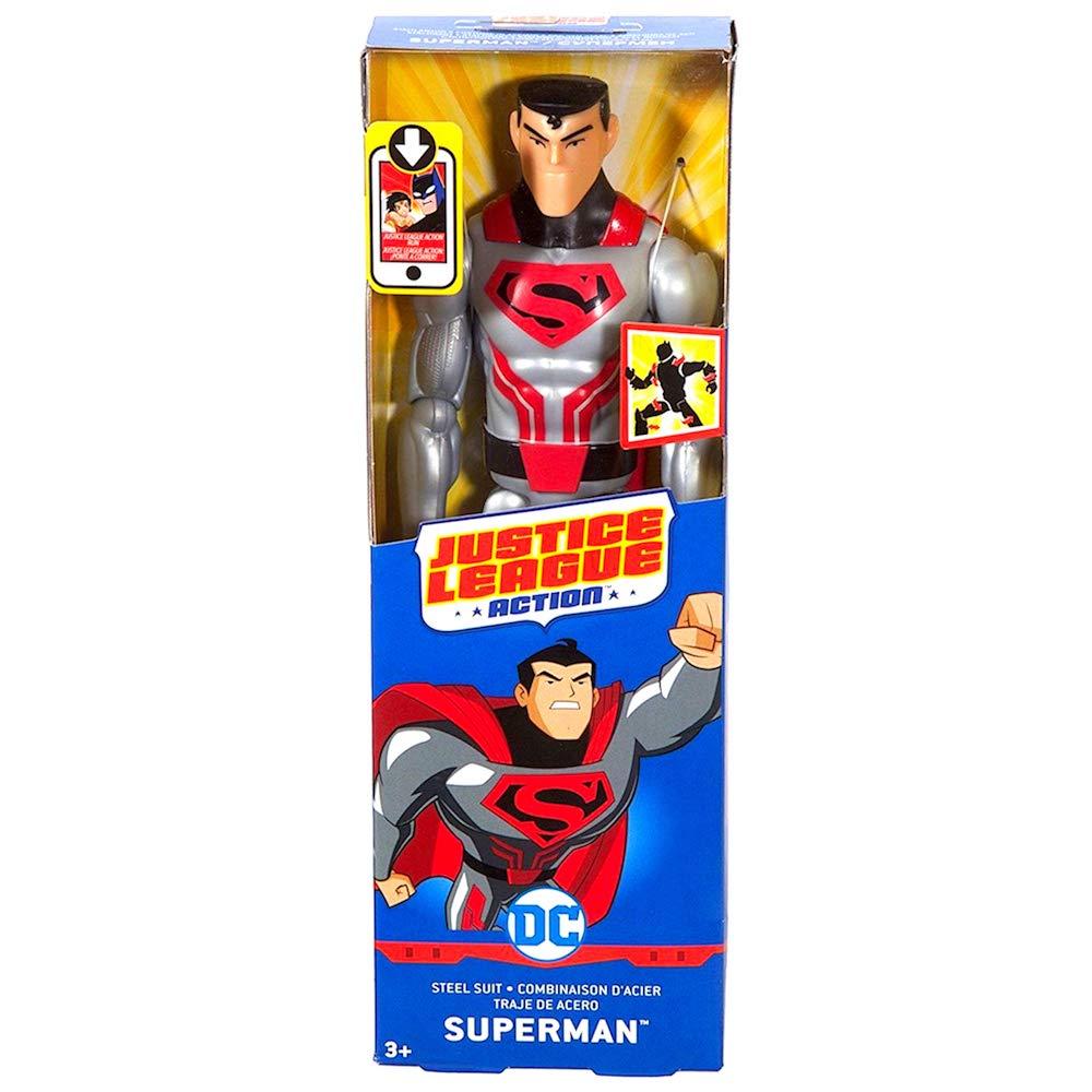 Amazon.com: Superman Justice League Action Steel Suit 12 ...