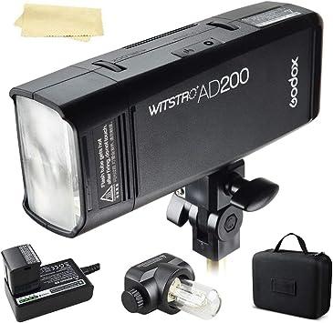 Godox AD200/200/W Flash Tubo Bare bombilla de luz de flash para Godox AD200/bolsillo luz de flash