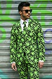 OppoSuits Men's Cannaboss Party Costume