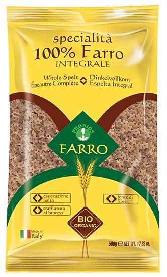 Probios Pasta Integral de Espelta Stelline - Paquete de 12 x ...