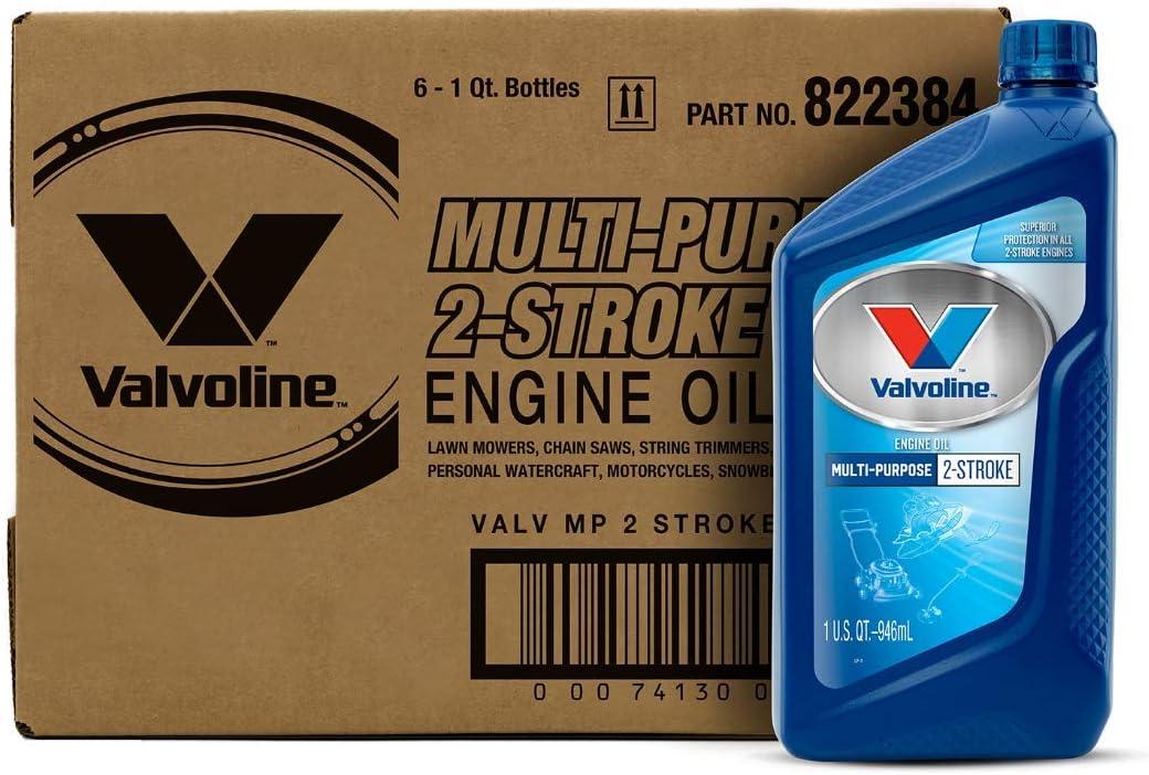 Valvoline 2-Cycle Multi-Purpose TCW-3 Motor Oil