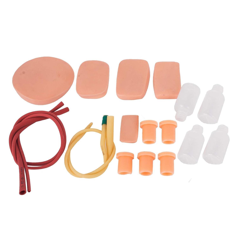 Moracle Intubaci/ón Estudio de Maniqu/í Capacitaci/ón Manejo de Modelos para Mujeres Material de PVC Laboratorio de capacitaci/ón en V/ías A/éreas Educaci/ón