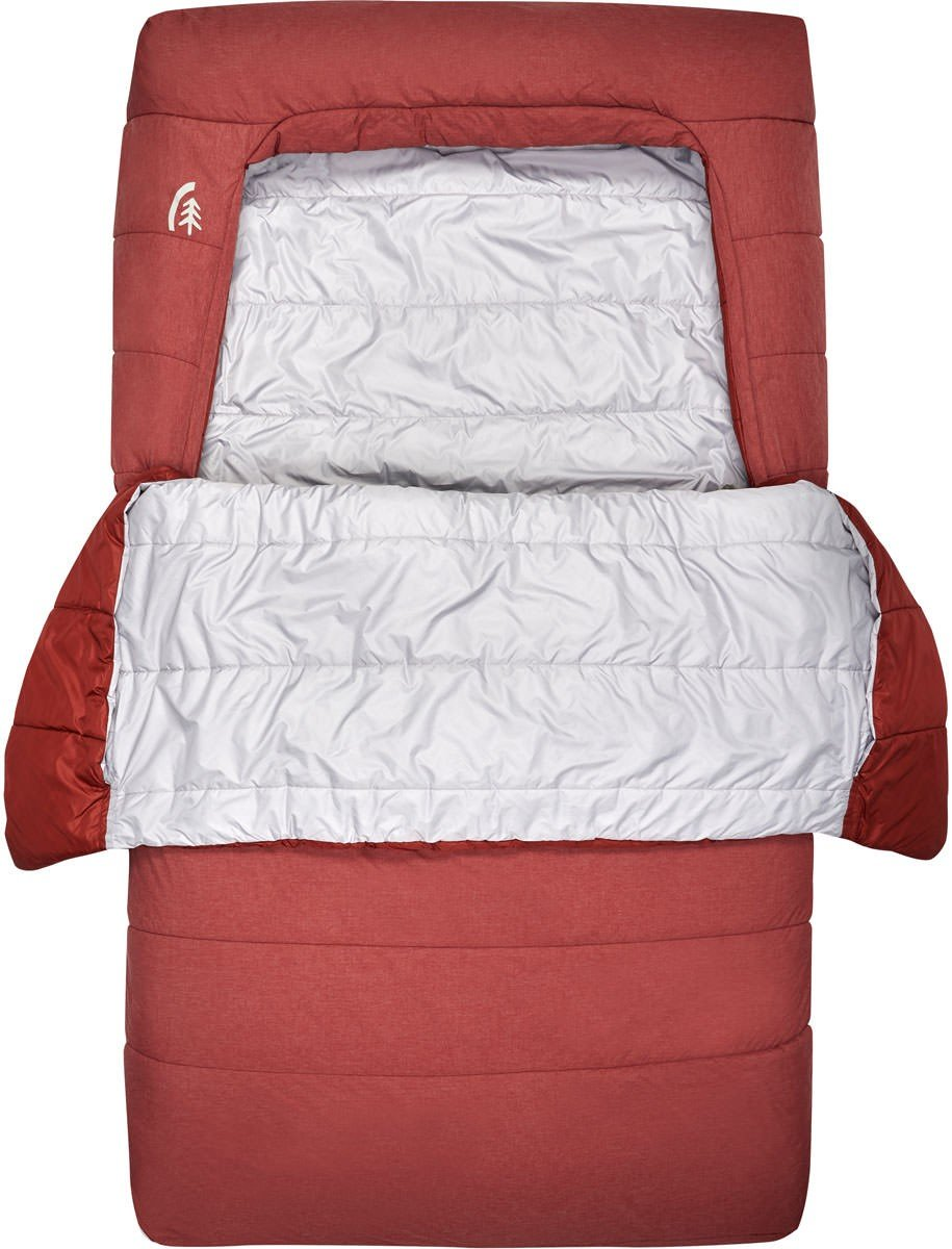 Sierra Designs Frontcountry Bed SYN Sleeping Bag - (Duo / Fired Brick)