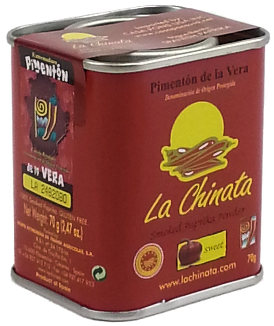 Sweet Smoked Spanish Paprika (4 pack) by La Chinata