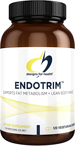 Designs for Health EndoTrim – Green Tea Extract GABA L-Carnitine for Endocrine Support 120 Capsules