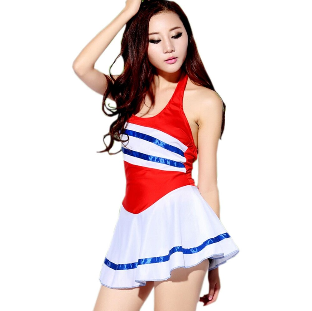 L Size Performance Wear Cheerleading Custome PANDA SUPERSTORE PS-SPO2515113011-YOUNG00421