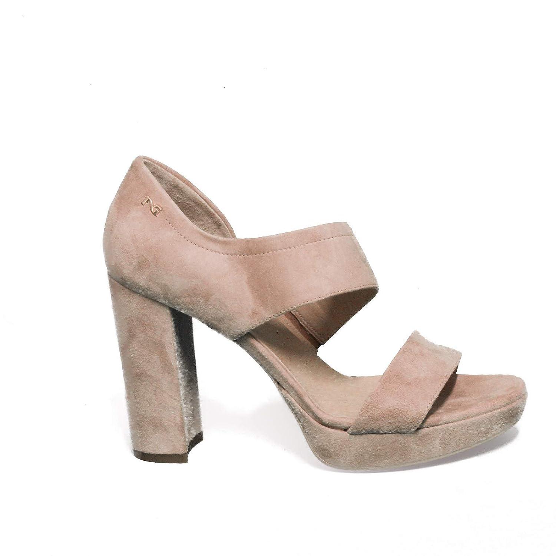 Pulver schwarz Giardini P908485DE Sandale Frau