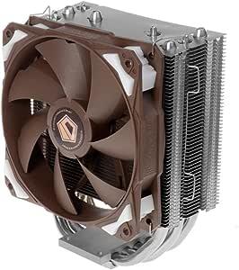ID-COOLING SE-204 8mm Heatpipe 4pcs & 120mm PWM Fan with Noise Absorption & Copper Base, Nickle Plating Heatsink, Intel LGA2011/1366/115X/775 & AMD FM2(+)/FM1/AM3(+)/AM2(+)