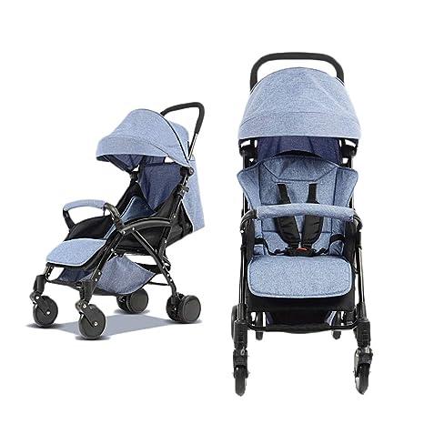 Carrito De Bebé Recién Nacido Carro De Bebé Plegable Se Puede Sentar Y Mentir Carro De