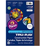 """Pacon Recycled Fade-Resistant Construction Paper, 76#, 9""""X12"""", 50/Pack Pac103029"""