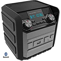 Ion Audio Tailgater Express 20W Water-Proof Bluetooth Compact Speaker IPA70 (Black) - (Certified Refurbished)