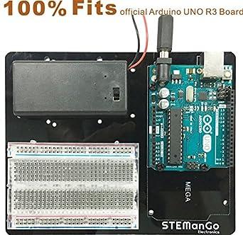 Amazon.com: Arduino Placa UNO MEGA2560 R3 soporte de placa ...