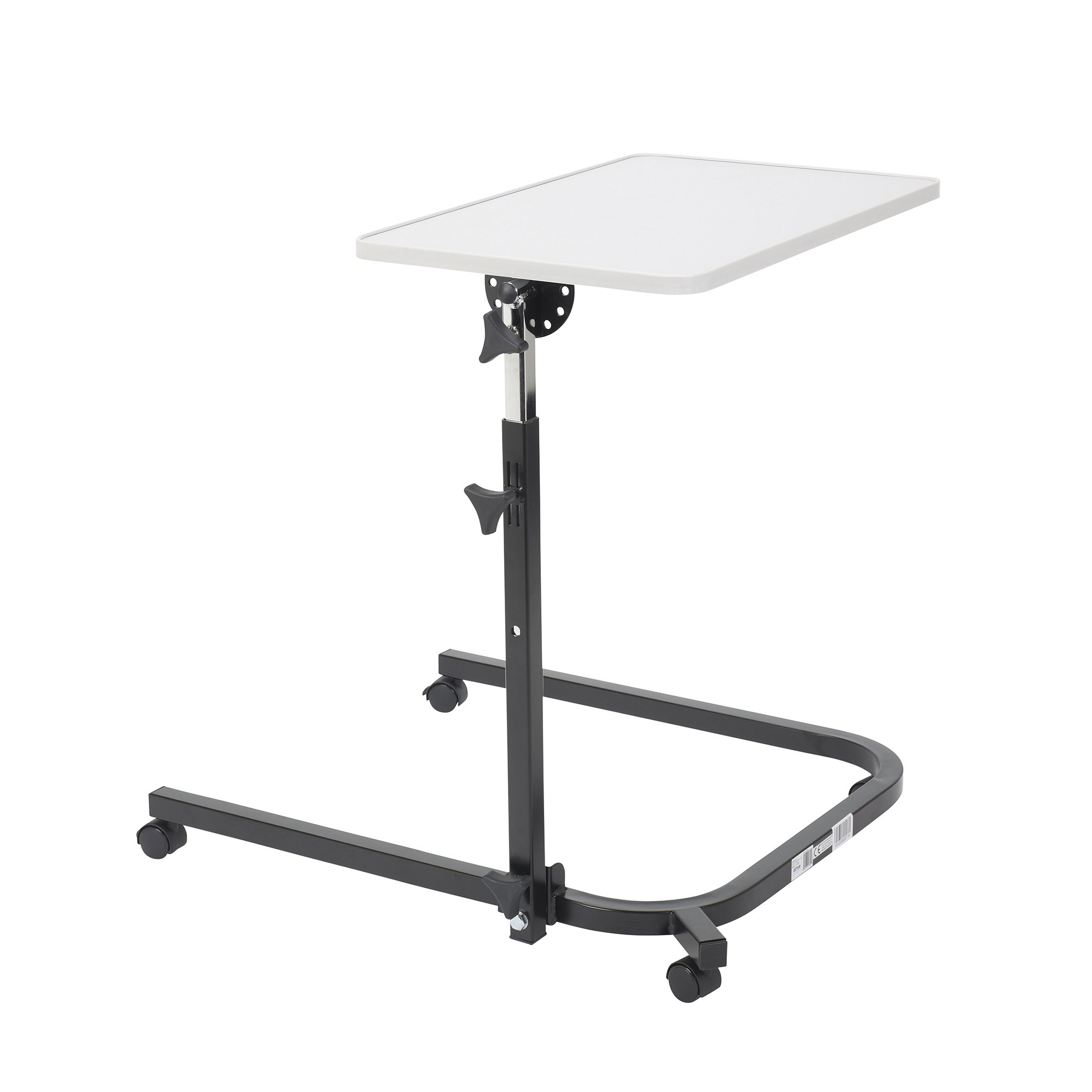 Drive Medical Pivot and Tilt Adjustable Overbed Table by Drive Medical