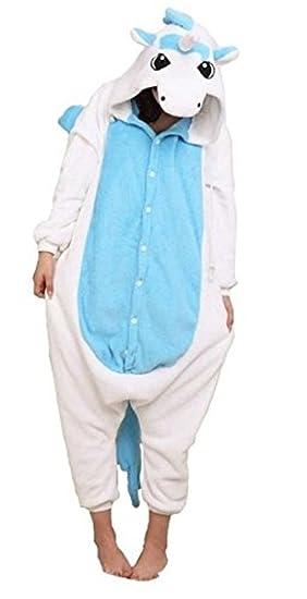 pokemon pikachu kigurumi pajamas adult anime cosplay halloween costumeblue
