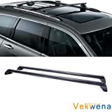 Yescom Car Roof Top Cross Bar Luggage Carrier Rack for