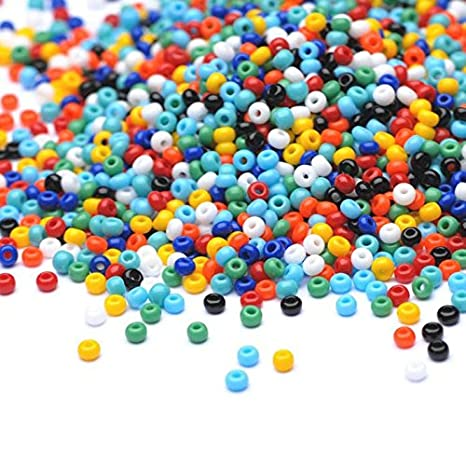 Preciosa Beads Unlimited - Opaco Checa Mix Semillas de Cristal rocalla/11/0-pack de 100 G: Amazon.es: Hogar