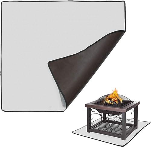 KOFAIR Square Fire Pit Mat 36 x 36 inch