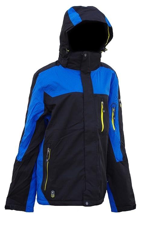 Killtec Testuro para hombre chaqueta de esquí chaqueta de invierno para tallas talla XXL hasta 4XL