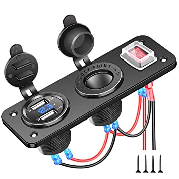 Amazon.com: Electop - Enchufe para encendedor de coche y ...