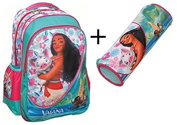 chaussures de sport 83216 8b876 Oceania - Vaiana - Disney - Sac a dos Cartable pour l'école ...