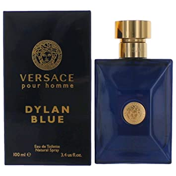 Amazon.com   Versace Pour Homme Dylan Blue FOR MEN by Versace - 3.4 oz EDT  Spray   Beauty 19c1b17e6e6