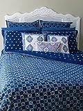 Starry Nights ~ Designer Batik Contemporary Queen Duvet Cover 90x90