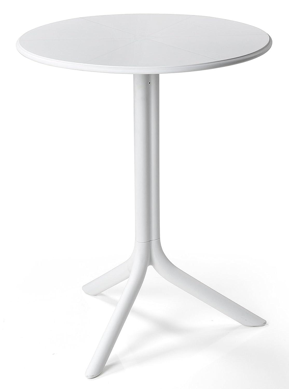 NARDI Tisch SPRITZ, rund rund rund 60 cm, weiss ec7ef7
