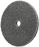 Scotch-Brite 17886 EXL Unitized Wheel, 3'' x 3/8'' x 3/8'' 2S FIN, 3'' Diameter, Abrasive Grit, 12100 rpm