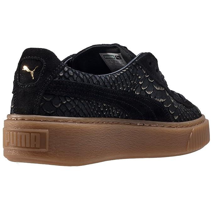 Puma Basket Platform Exotic Skin 36337701, Basket - 39 EU