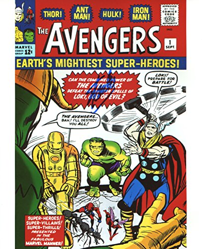 Stan Lee Avengers #1 Signed / Autographed 8x10 Glossy Photo. Includes Fanexpo Certificate of Authenticity and Proof of signing. Entertainment Autograph Original. Thor, Iron Man, Hulk, Wasp, Ant Man