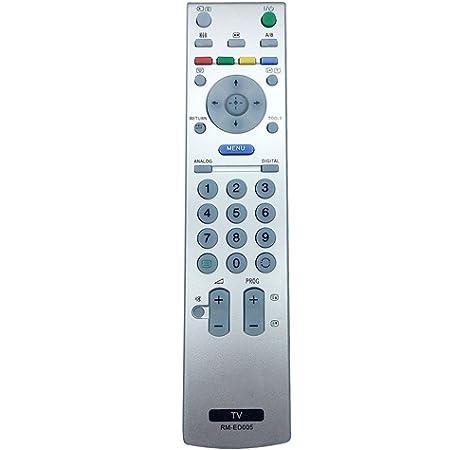 ALLIMITY RM-ED005 Mando a Distancia reemplazado por Sony Bravia LCD TV KDL-46V250 KDL-46V2000 KDL-46S2000 KDL-40V2000 KDL-40S2000 KDL-32V2000 KDL-32S2020E KDL-32S2020 KDL-32S2010: Amazon.es: Electrónica