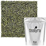 Tealyra – Sencha Tenkaichi Japanese Green Tea – Handmade Premium 1st Flush – Organically Grown in Japan – Loose Leaf Tea – Caffeine Level Medium – 100g (3.5-ounce) Review