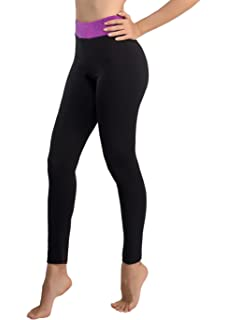88e14b5761594d Disbest Women Sports Leggings High Waist Yoga Leggings with Pocket Workout  Running Pants…