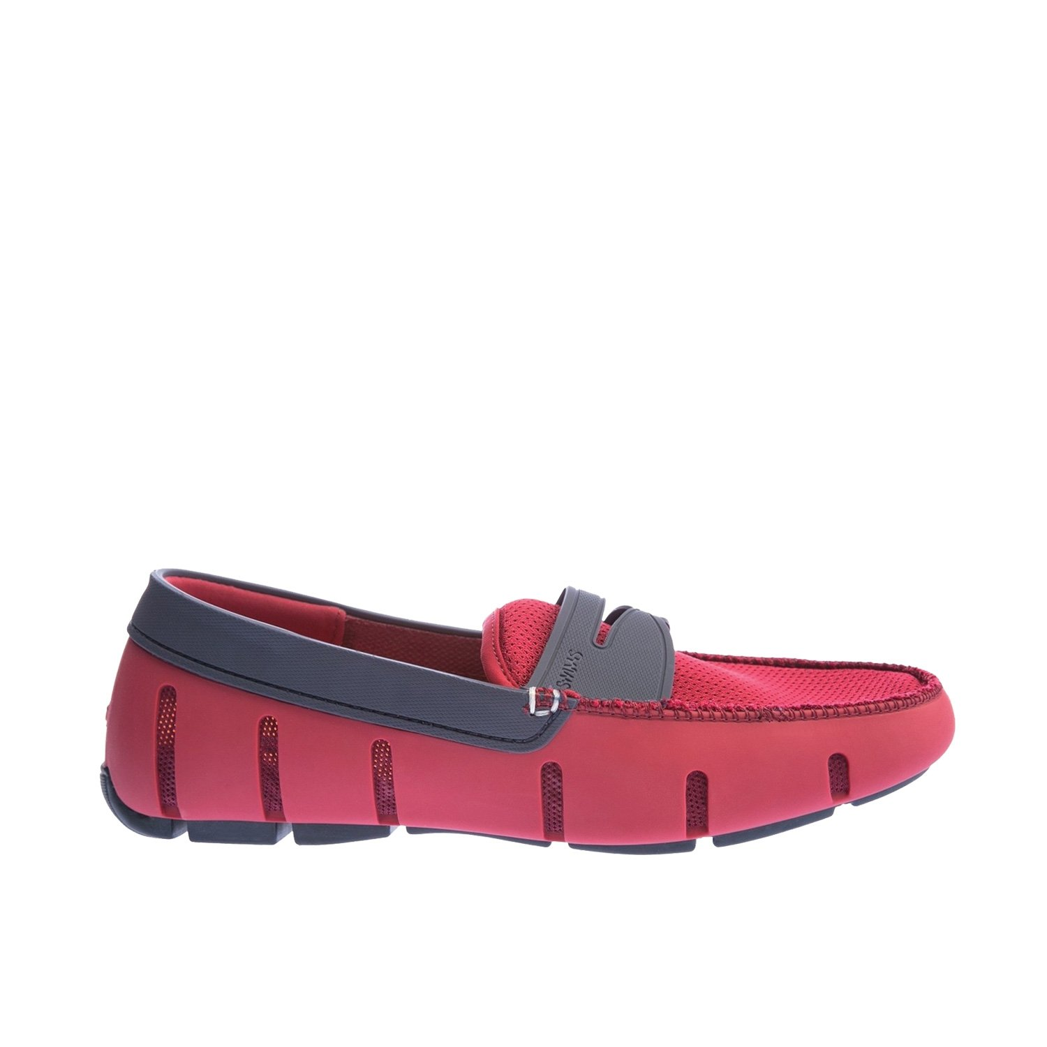 Swims Penny Loafer, Mocasines para Hombre Rojo (Deep Red/Navy 593)