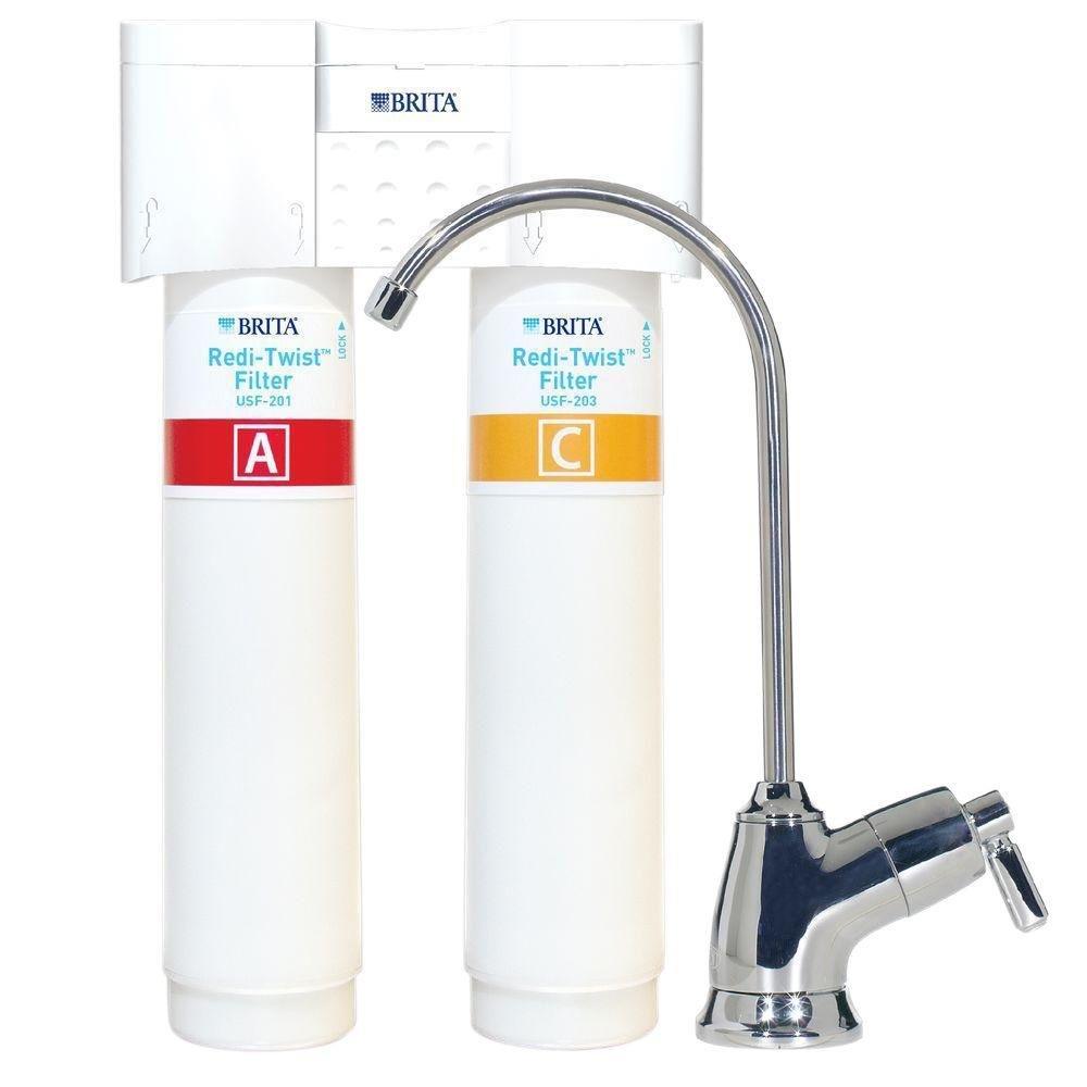 Brita Redi-Twist 2-Stage Drinking Water Filtration System