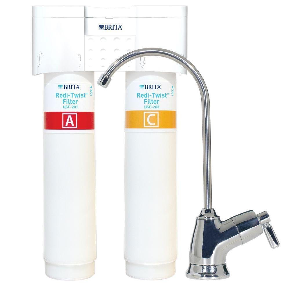 Redi-Twist 2-Stage Drinking Water Filtration System by Brita