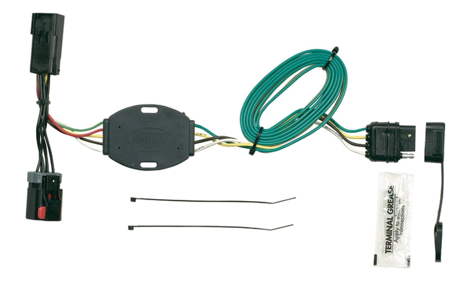 61tcExFsCZL._SL1500_ amazon com hopkins 42225 plug in simple vehicle wiring kit 2016 dodge grand caravan trailer wiring harness at mifinder.co