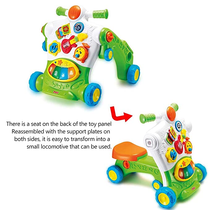 Amazon.com: Ceepko Baby Walker, 3 en 1 Baby Sitting Type ...