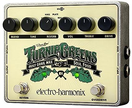 Electro Harmonix 665235 efecto de guitarra eléctrica con sintetizador Filtro Turnip Greens