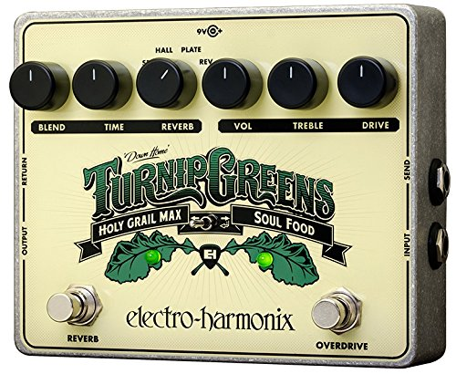 (Electro-Harmonix Turnip Greens Guitar Floor Multi-Effects Pedal)