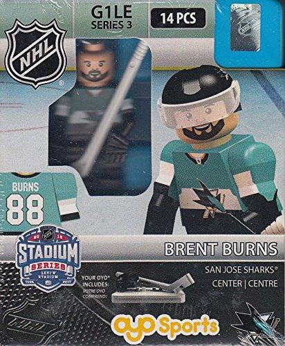 (Brent Burns OYO NHL San Jose Sharks Stadium Series G1 Series 3 Mini Figure Limited Edition)