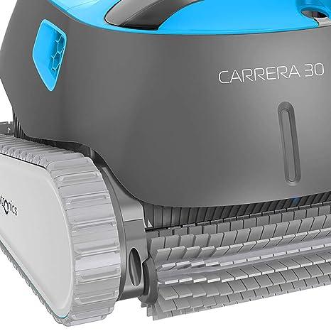 Dolphin Carrera 30 - Robot limpiafondos para piscinas (fondo, paredes y línea de flotación): Amazon.es: Jardín
