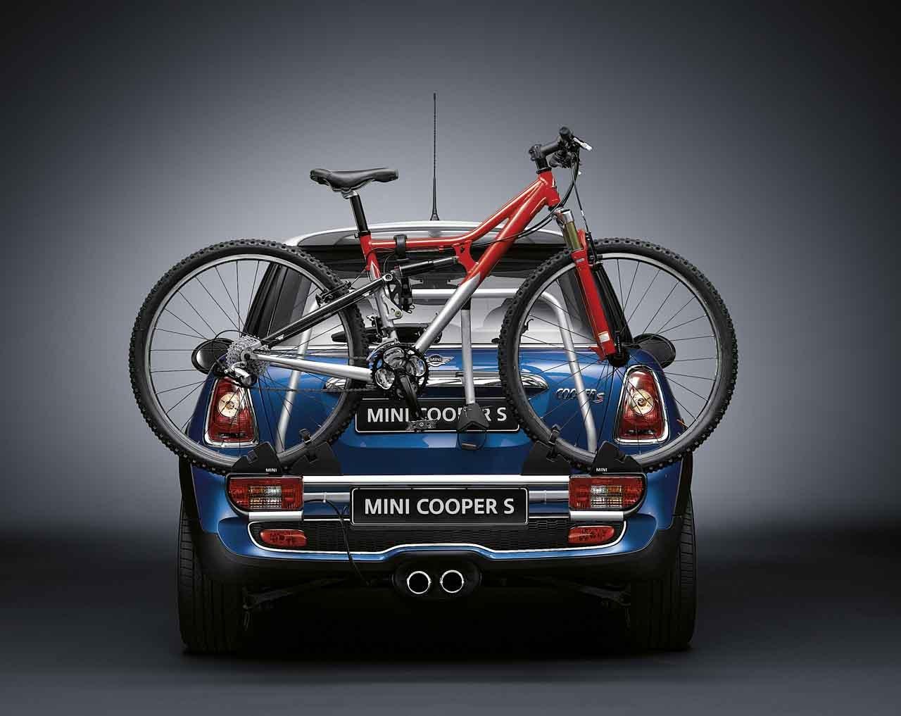 Mini-Tablett Echte hinten Fahrrad Rack Halter Rad R56 R57 ...