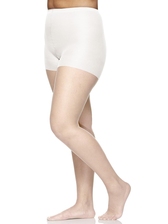 82758aaff0 Berkshire Women's Plus-Size Queen Ultra Sheer Control Top Pantyhose 4411 at  Amazon Women's Clothing