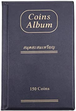 House of Quirk 150 Pockets Coin Holder Collection Coin Storage Album Book for Collectors, Money…