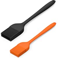 Silicone Basting Pastry Brush Spread Oil Butter Sauce Marinades for BBQ Grill Baking Kitchen Cooking, Baste Pastries…